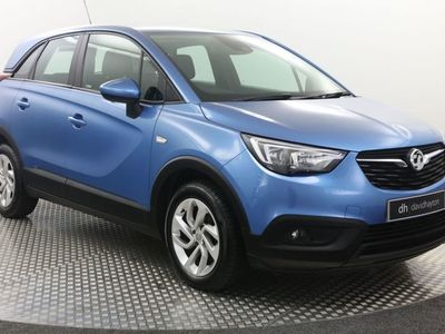 used Vauxhall Crossland X 1.6 Turbo D ecoTec SE 5dr [Start Stop]