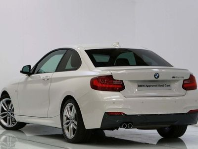 used BMW 228 2 Series i M Sport Coupe NAVIGATION & XENONS 2015