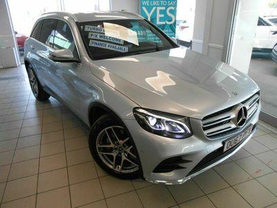 used Mercedes 220 GLC GLC4Matic AMG Line Leather Trim Sat Nav Reverse Camera 67 Reg