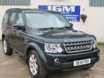 used Land Rover Discovery 3.0 SDV6 XS 5dr Auto
