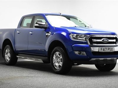 used Ford Ranger 3.2 LIMITED 4X4 DCB TDCI 4d 197 BHP