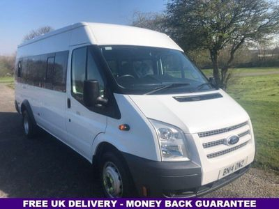 used Ford Transit 2.2 430 SHR BUS 17 STR 134 BHP 4dr
