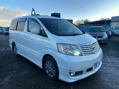 used Toyota Alphard Facelift 5-speed Automatic VVT G 2.4 5dr