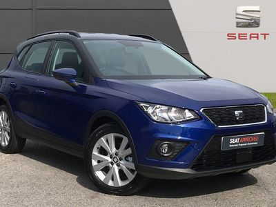 used Seat Arona 1.6 TDI 115PS SE TECHNOLOGY LUX 5DR suv diesel hatchback