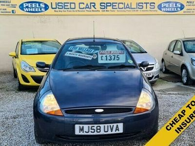 used Ford Ka 1.3 ZETEC CLIMATE * GREY * 3d 69 BHP * PERFECT FIRST CAR *