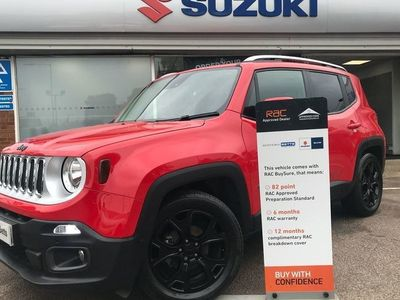 used Jeep Renegade M-JET LIMITED - NAV 1.6 5dr