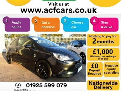 used Vauxhall Corsa LIMITED EDITION ECOFLEX - CAR FINANCE FR £25 PW Hatchback 2017