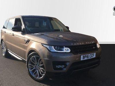 used Land Rover Range Rover Sport 3.0 SD V6 HSE Dynamic 4X4 (s/s) 5dr SUV diesel estate