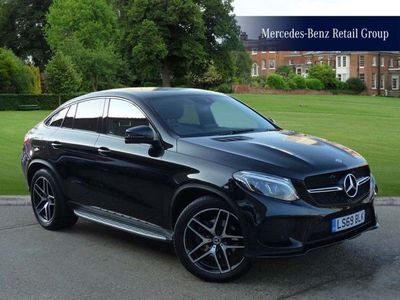 used Mercedes GLE350 GLE Coupe4Matic Amg Night Edition 5Dr 9G-Tronic