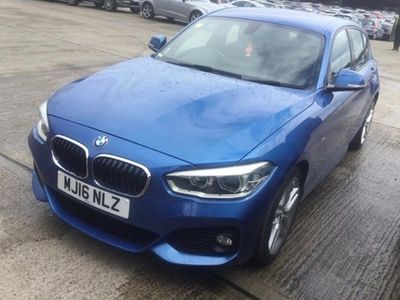 used BMW 120 1-Series Hatchback d M Sport (03/15-) 5d