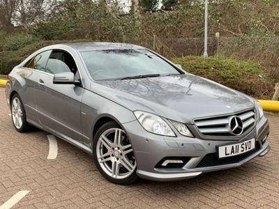 used Mercedes E350 E Class 3.0CDI Sport Auto 2dr