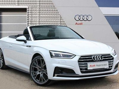used Audi A5 Cabriolet 40 TFSI Vorsprung 2dr S Tronic