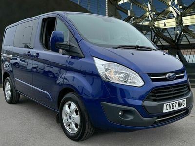 used Ford Custom Transit2.0 TDCi 130ps Low Roof D/Cab Limited Van