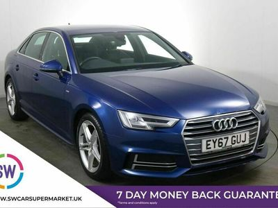 used Audi A4 TFSI S LINE 2.0 4dr