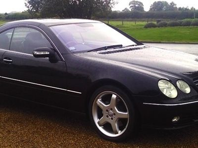 used Mercedes CL500 CL