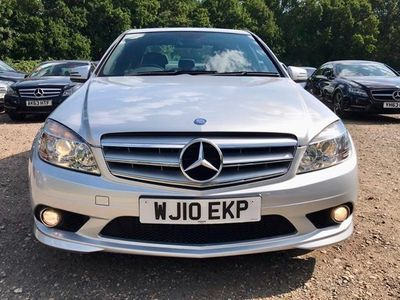 used Mercedes C350 C-Class SaloonCDI BlueEFFICIENCY Sport 4d Auto