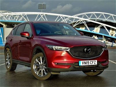 used Mazda CX-5 2019 Huddersfield 2.2d [184] Sport Nav+ 5dr Auto AWD Estate