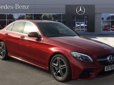 used Mercedes C300 C-ClassAMG Line Edition Premium 4dr 9G-Tronic Diesel Saloon