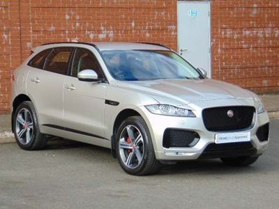 used Jaguar F-Pace 3.0 V6 S Auto AWD (s/s) 5dr 2016