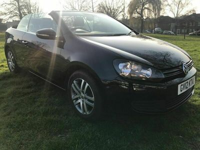used VW Golf Cabriolet 1.6 TDI BlueMotion Tech S (s/s) 2dr