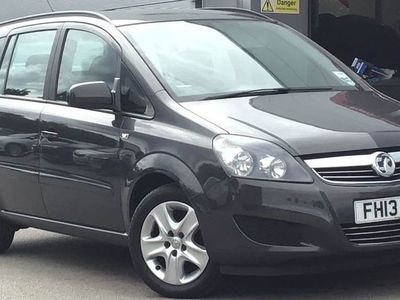 used Vauxhall Zafira 1.6I [115] Exclusiv 5Dr