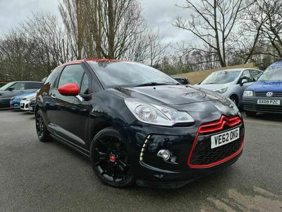 used Citroën DS3 1.6 e-HDi Airdream DSport Red 3dr