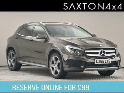 used Mercedes GLA200 GLA Class 2.1AMG Line 7G-DCT 4MATIC (s/s) 5dr BUY ONLINE