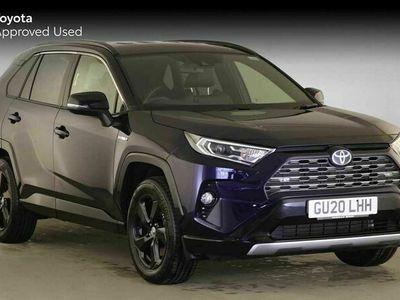 used Toyota RAV4 4 2.5 VVT-i Hybrid Dynamic 5dr CVT SUV 2020