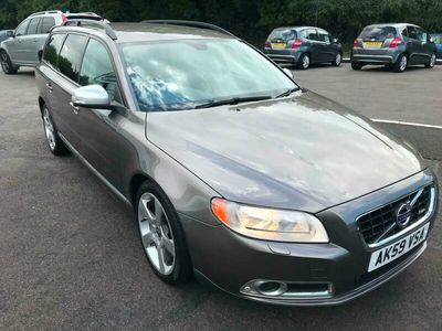 used Volvo V70 Estate D5 (205bhp) R DESIGN SE Premium 5d Geartronic