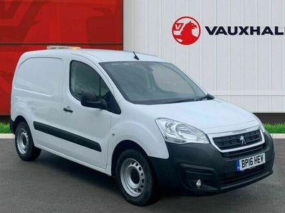 used Peugeot Partner 850 1.6 BlueHDi 100 Professional Van ATV