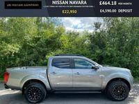 used Nissan Navara 2.3 DCI TEKNA 4X4 SHR DCB 190 BHP DERANGED EDITION EURO 6 NAVIGATION ~ LEAT