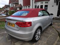 used Audi A3 Cabriolet 1.8 TFSI Sport 2dr
