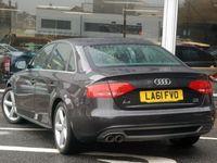 used Audi A4 S LINE QTRO 170TDI DPF 2.0 4dr