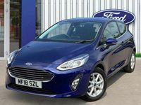 used Ford Fiesta 1.1 Ti Vct Zetec Hatchback 3dr Petrol Manual (s/s) (85 Ps)