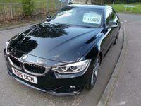 used BMW 418 Gran Coupé 4 SERIES d SPORT 2.0lt++STUNNING CAR IN BLACK BIG SPEC++ gran diesel coupe