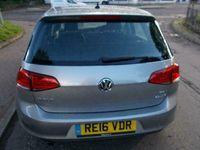used VW Golf MATCH EDITION 1.6TDI BMT DSG ++SAT NAV HEATED SEATS £20 ROAD TAX FVWSH++ diesel hatchback