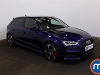 used Audi A3 S3 TFSI 300 Quattro Black Ed 5dr S Tronic [Tech] 2.0