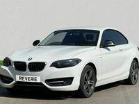 used BMW 218 2 Series 2.0 D SPORT 2d 148 BHP