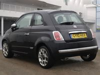 used Fiat 500 1.2 LOUNGE 3d 69 BHP FULL LEATHER, PANORAMIC GLASS ROOF