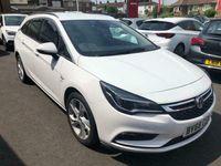 used Vauxhall Astra 1.6i Turbo SRi (s/s) 5dr