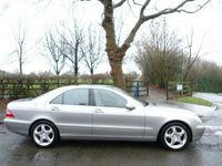 used Mercedes S320 S Class 3.2TDCDI 2003 Saloon 4d 3222cc auto