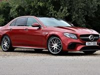 used Mercedes S63 AMG E-Class Saloon E4Matic+ Premium AMG Speedshift MCT auto 4d