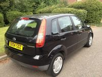 used Ford Fiesta 1.25 Finesse Hatchback 5d 1242cc